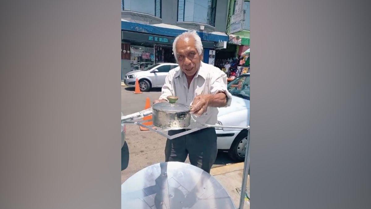 Inventor cocina solar