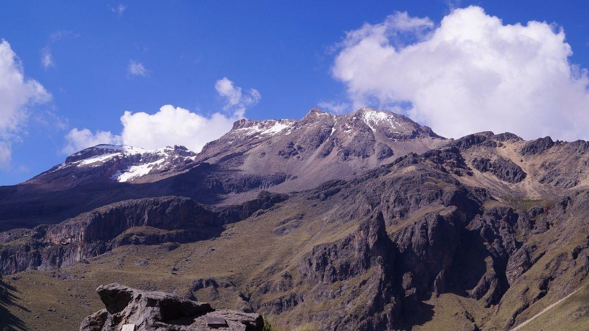 Iztaccihuatl glaciar Ayoloco