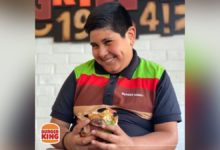 Niño Oxxo Burger King