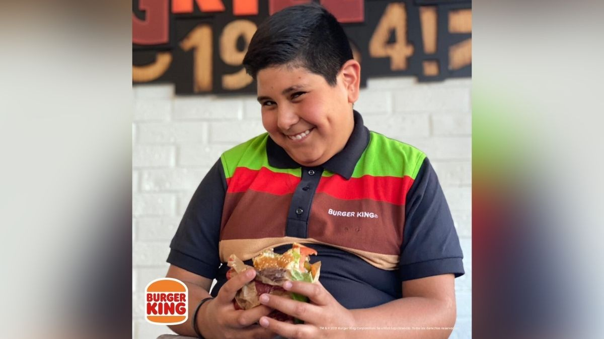 Niño Oxxo Burger King