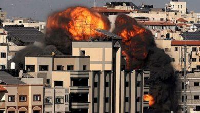 Bombardeo Gaza