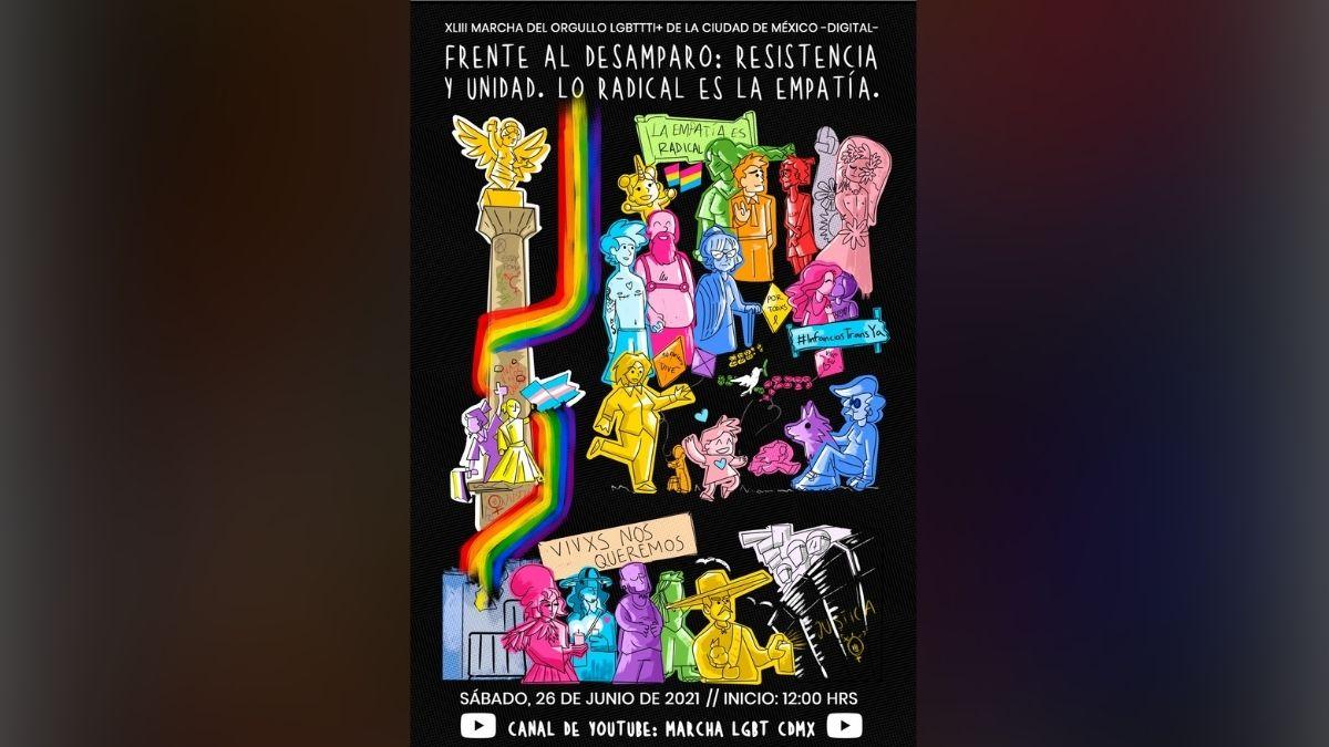 Cartel marcha LGBT