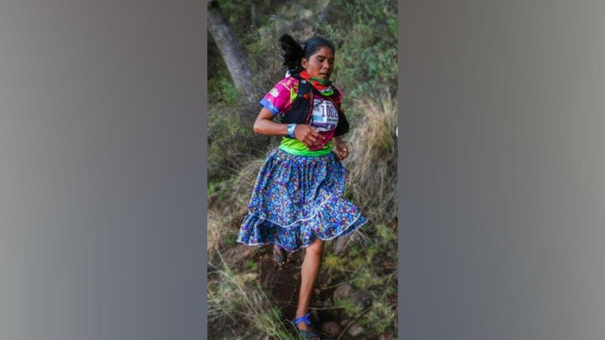 Corredora de carreras Lorena Ramirez