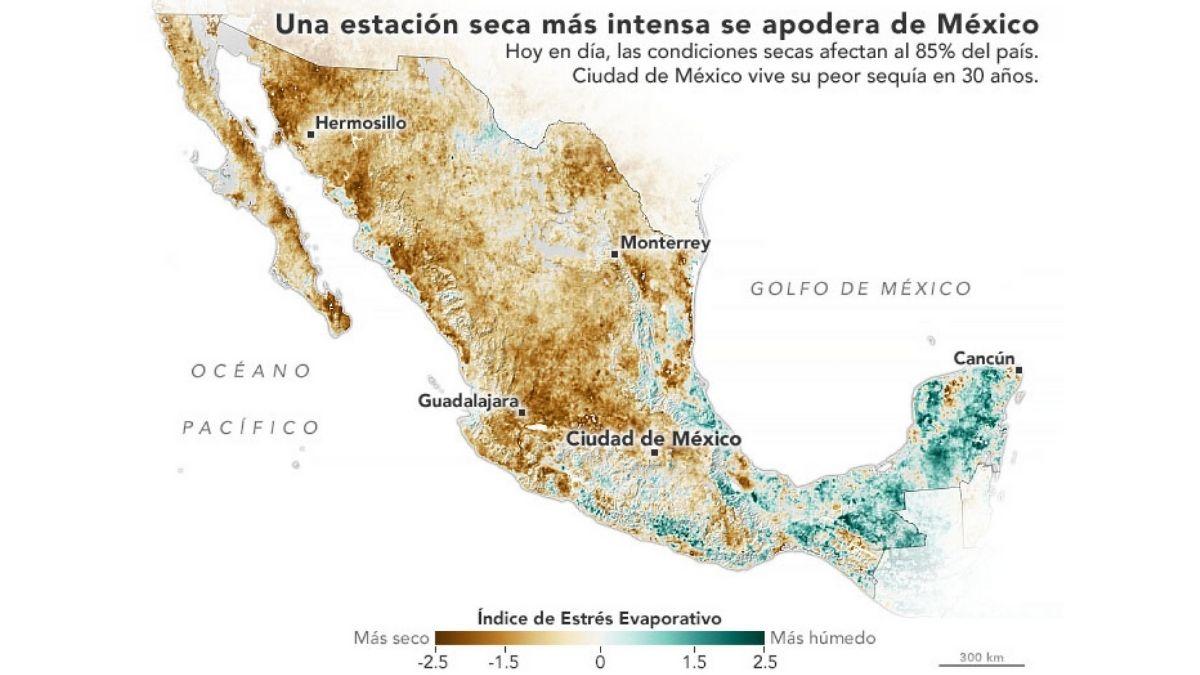 Escasez de agua Mexico