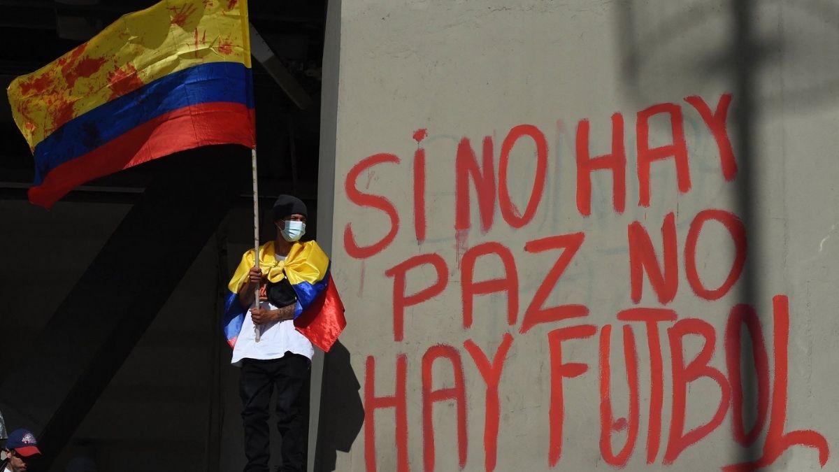 Manifestacion Copa America