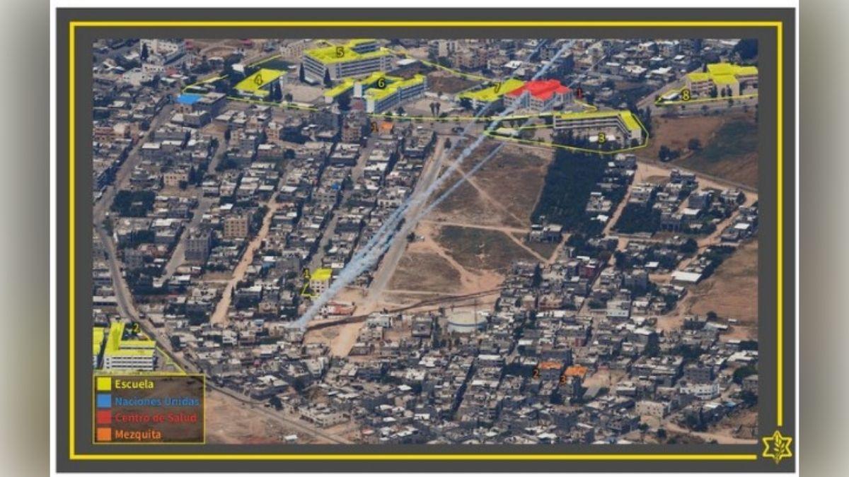 Mapa Hamas