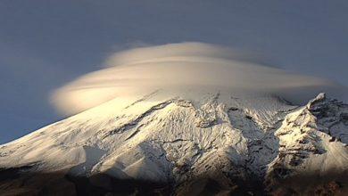 Nube Popocatepetl