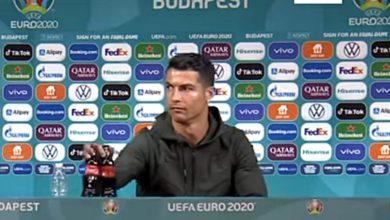 Cristiano Ronaldo conta Coca Cola