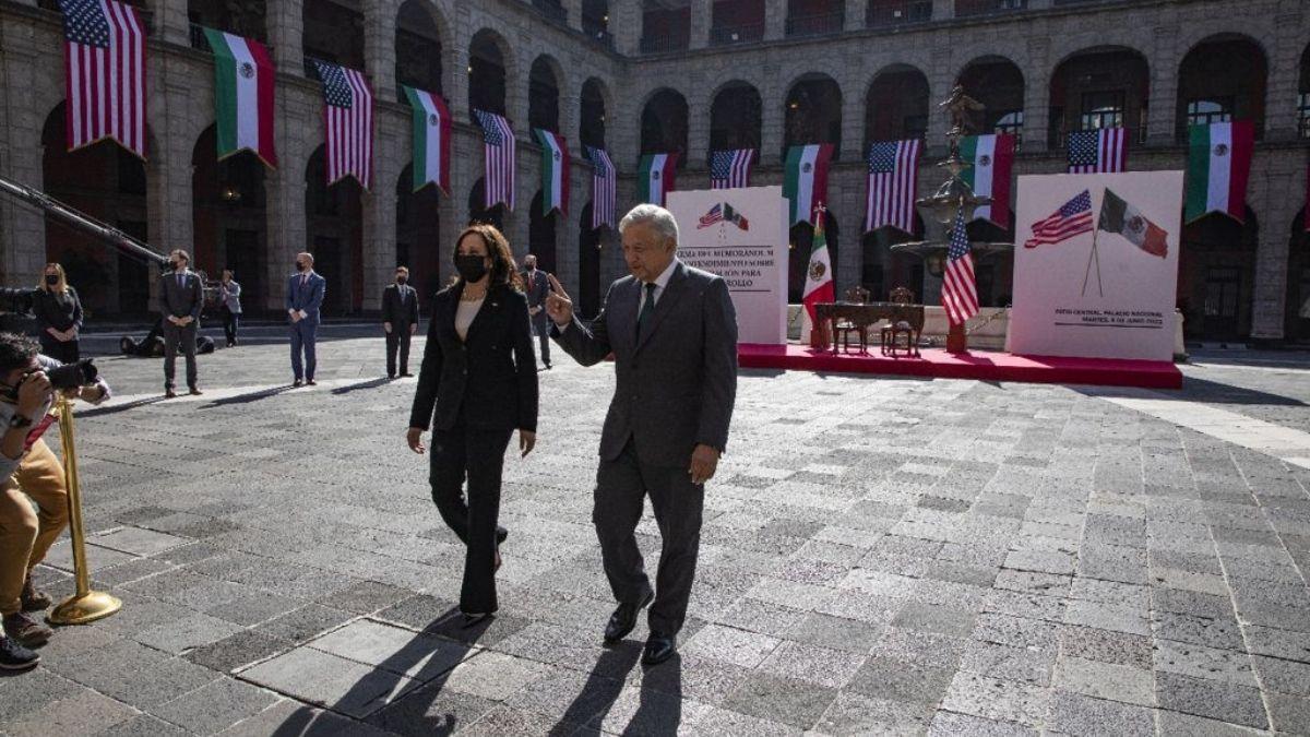 Kamala Harris Mexico