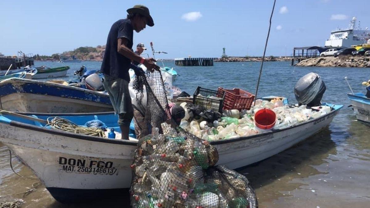 Pesca plastico mazatlan