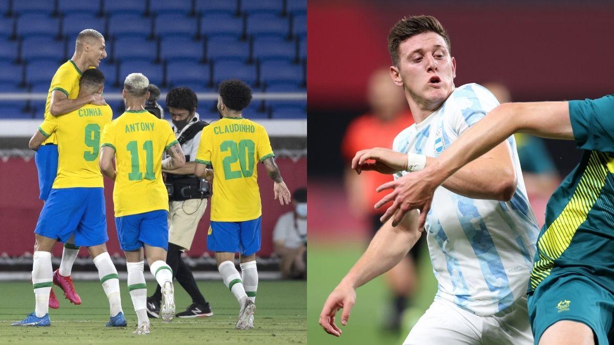 Brasil y Argentina Tokio