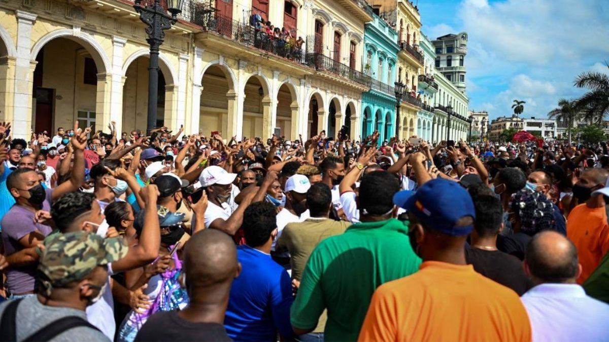 Protesta Cuba