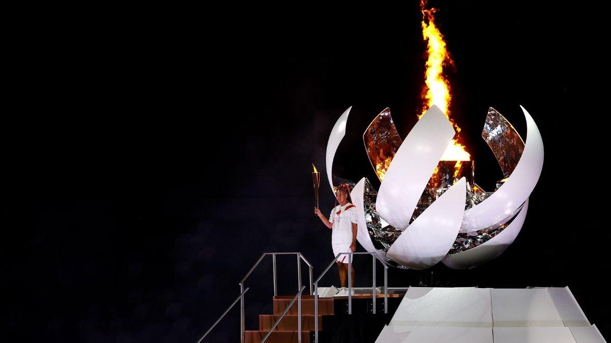 Ceremonia juegos olimpicos fuego