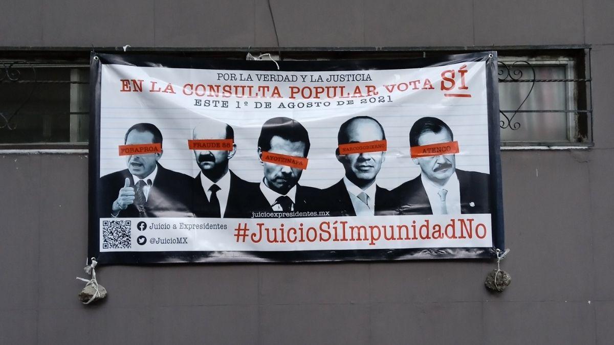 Consulta juicio expresidentes