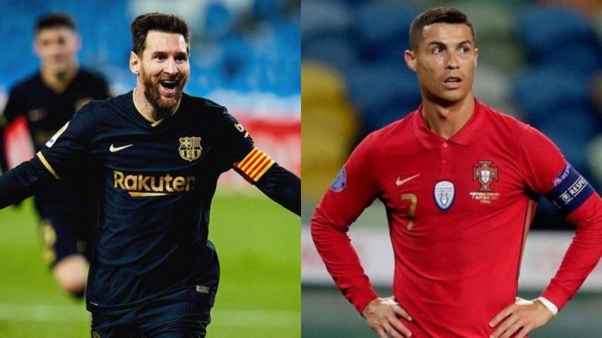 Messi y Ronaldo