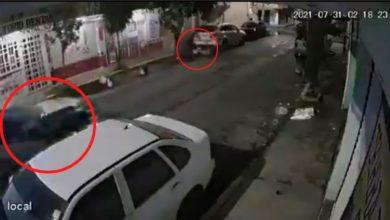 Policias ignoran choque moto