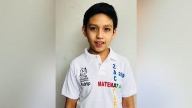 Rodrigo Saldivar medalla oro matematicas