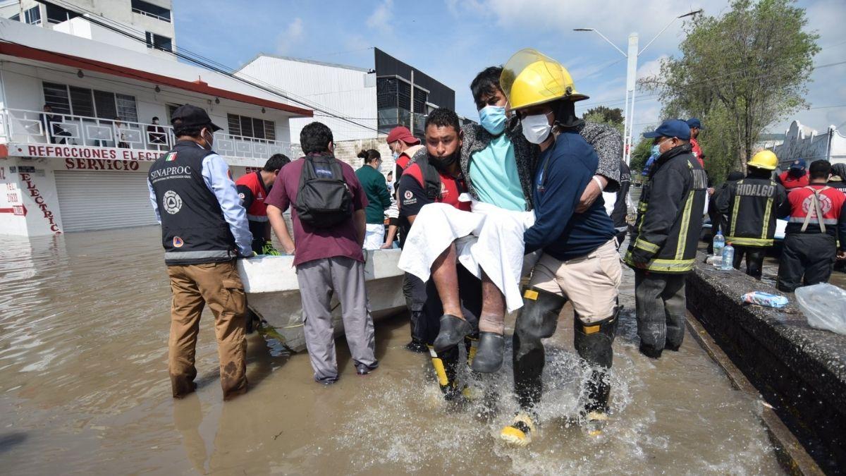 Inundacion IMSS Tula