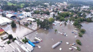 Inundaciones Hidalgo emergencia