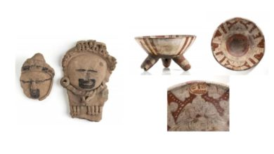 Subasta piezas arqueologicas