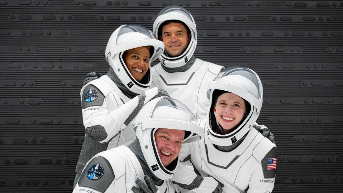 Turistas espaciales Inspiration 4