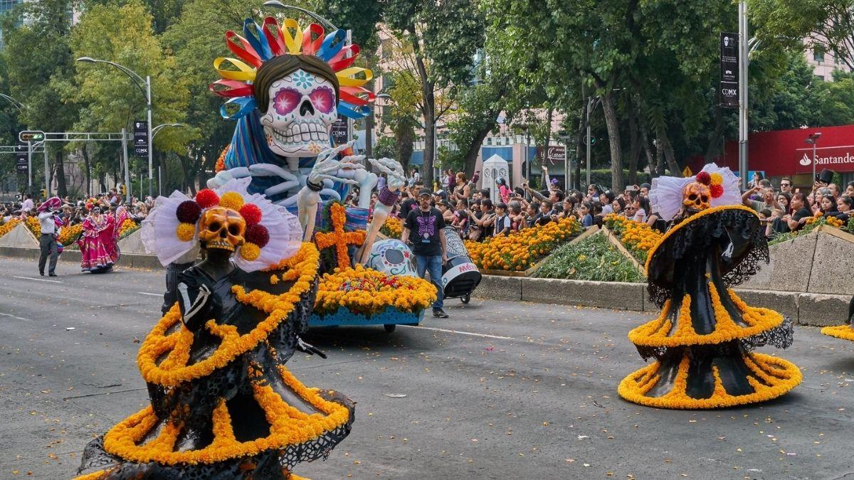 Desfile Dia de Muertos CDMX