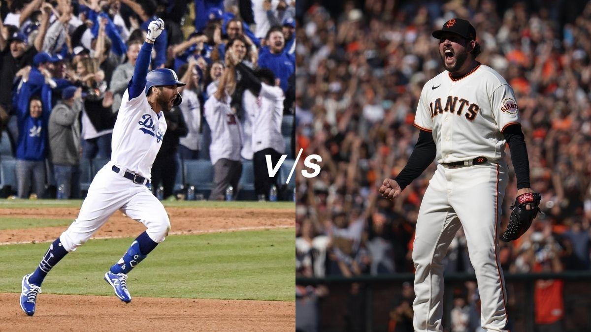 Dodgers vs Gigantes