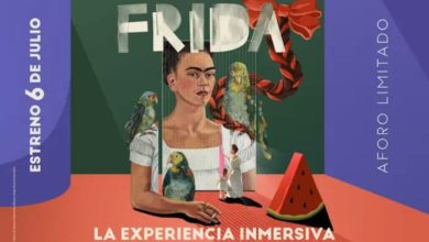 Frida Khalo inmersiva