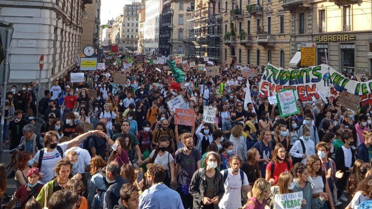 Protesta Greta Thundeberg